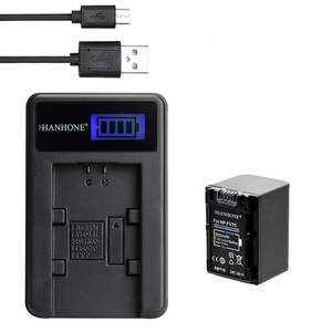 1PCS 3000mAh NP-FV70 NP FV70 NPFV70 Battery+LCD USB Charger for Sony NP-FV50 HDR-CX230 HDR-CX150E HDR-CX170 CX300 Z1 NP-FV30