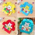 2016 New Cute Winter Baby Girls Boys t Shirts Tracksuits Tops Clothing Cartoon Sweatshirts Hoodie children's T-Shirt