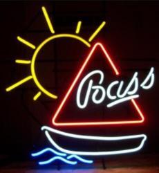Niestandardowe inne marki piwa szkło znak światła Neon Beer Bar