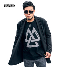High quality mens sweater coat black loose knit cardigan jacket men fashion casual knitwear overcoat plus size 2XL-7XL,Z128