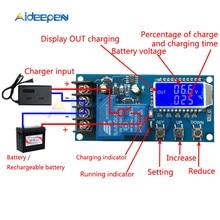 XY L30A NC moduł kontroli ładowania baterii cyfrowa pełna moc Off zabezpieczenie przed przeładowaniem 6 60 V z wyświetlaczem LCD