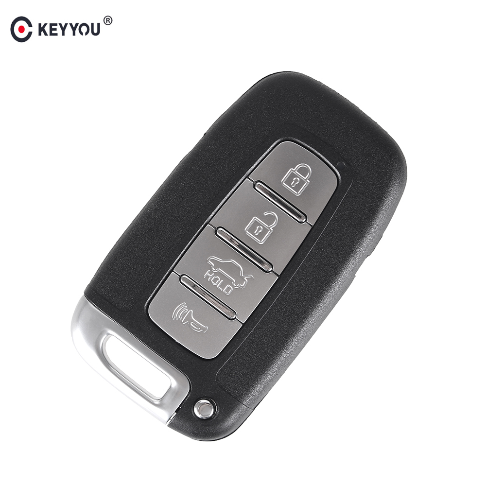 KEYYOU Replacement Remote Car Key For Hyundai Genesis Coupe Sonata Keyless Entry Remote Fob Transmitter Smart Key 4 Buttons