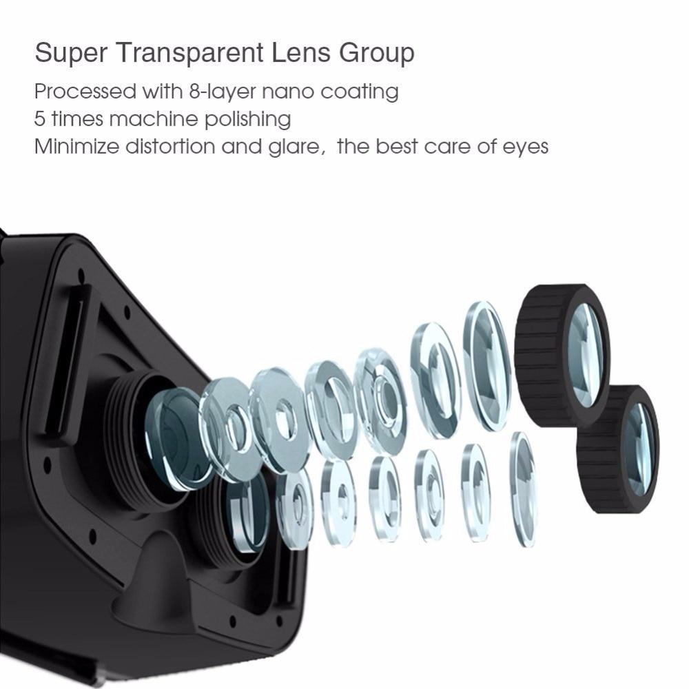 Casque Shinecon 2.0 VR Box Virtual Reality Glasses 3 D 3d Goggles Headset Helmet For Smartphone Smart Phone Google Cardboard Len