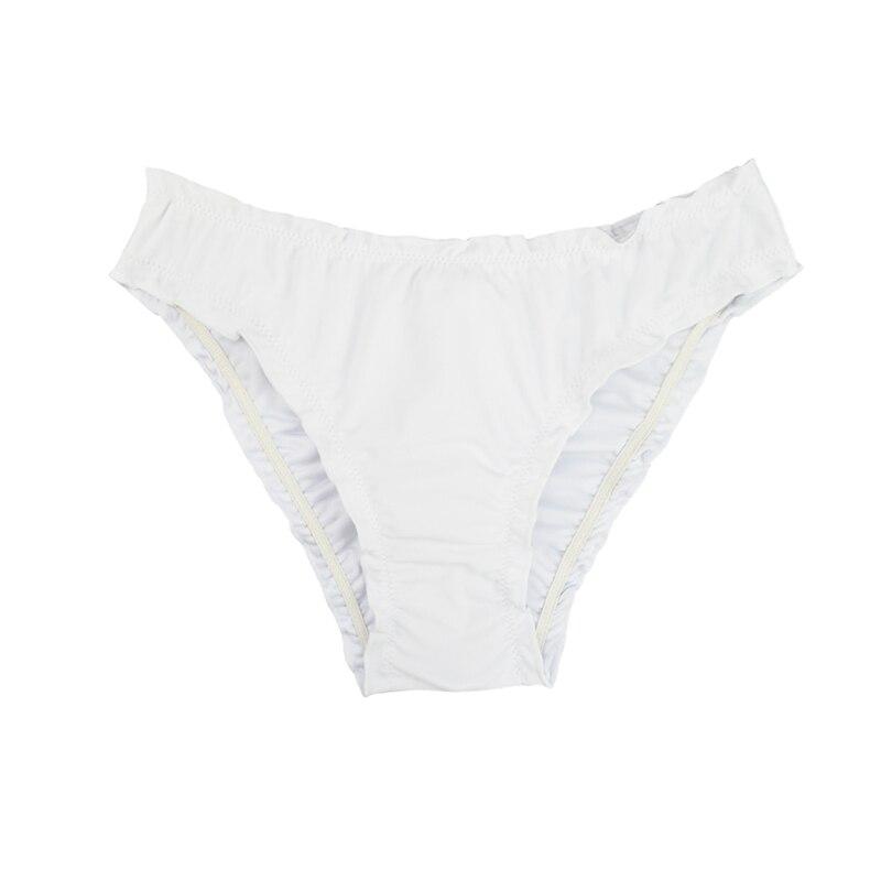 Женский купальник с низкой талией бикини снизу микро Chiffons печати двух частей отделяет плавки сексуальные купальник женский летний B607 - Цвет: B607Q