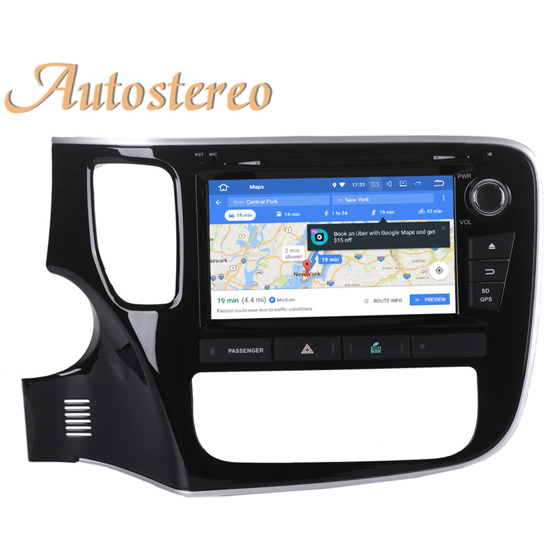 Perfect Android 9 Car GPS navigation Car DVD player For Mitsubishi OUTLANDER 2014 2015 2016 2017 multimedia radio tape recorder headunit 21