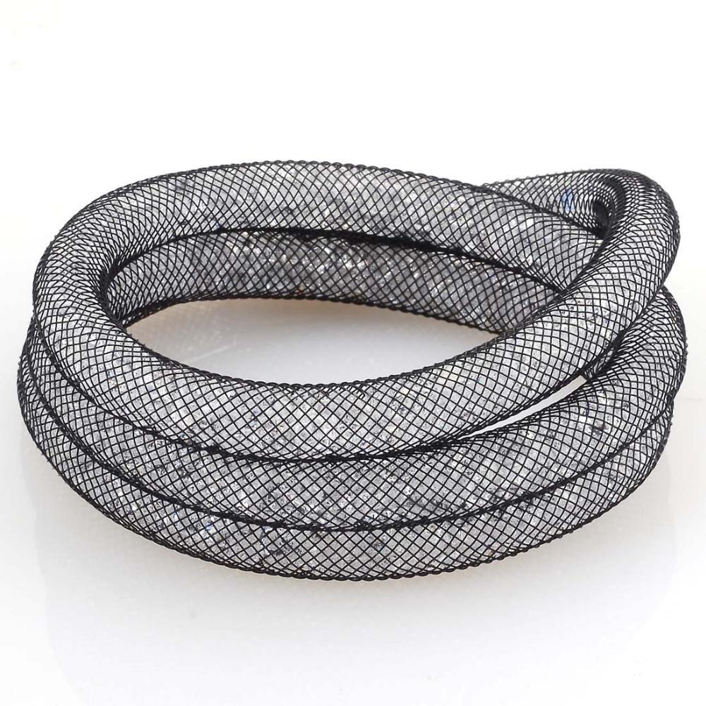Miasol Wrap Full Resin Crystal Bracelet Magnetic Wrap Crystal Bracelet Charm Bracelet With Full Crystal Jewelry Gift