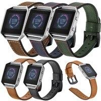 Susenstone 2018 Thời Trang Watchband Sang Trọng Xem Strap Da Thương Hiệu + Trường Hợp Bìa Cho Fitbit Blaze Correa Reloj Saat Kordonu