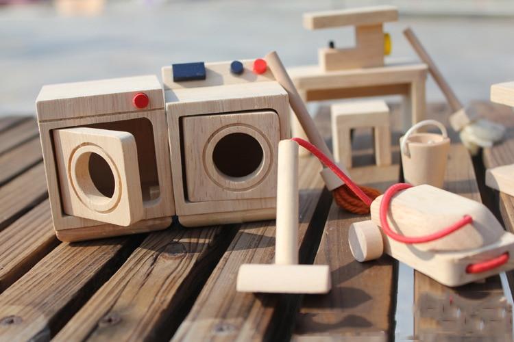beba drvena lutka kuća igračke / djeca Dijete utily romm s - Lutke i pribor - Foto 4