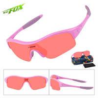 BATFOX niños gafas de sol polarizadas TR90 UV400 silicona seguridad playa gafas de sol bicicleta de los niños ciclismo gafas para niños niñas