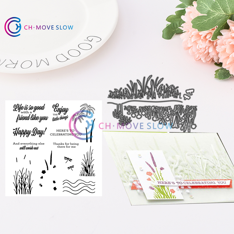 CH Friend Like You Bundle Metal Cutting Dies and stamps DIY Scrapbooking  Card Stencil Paper Craft