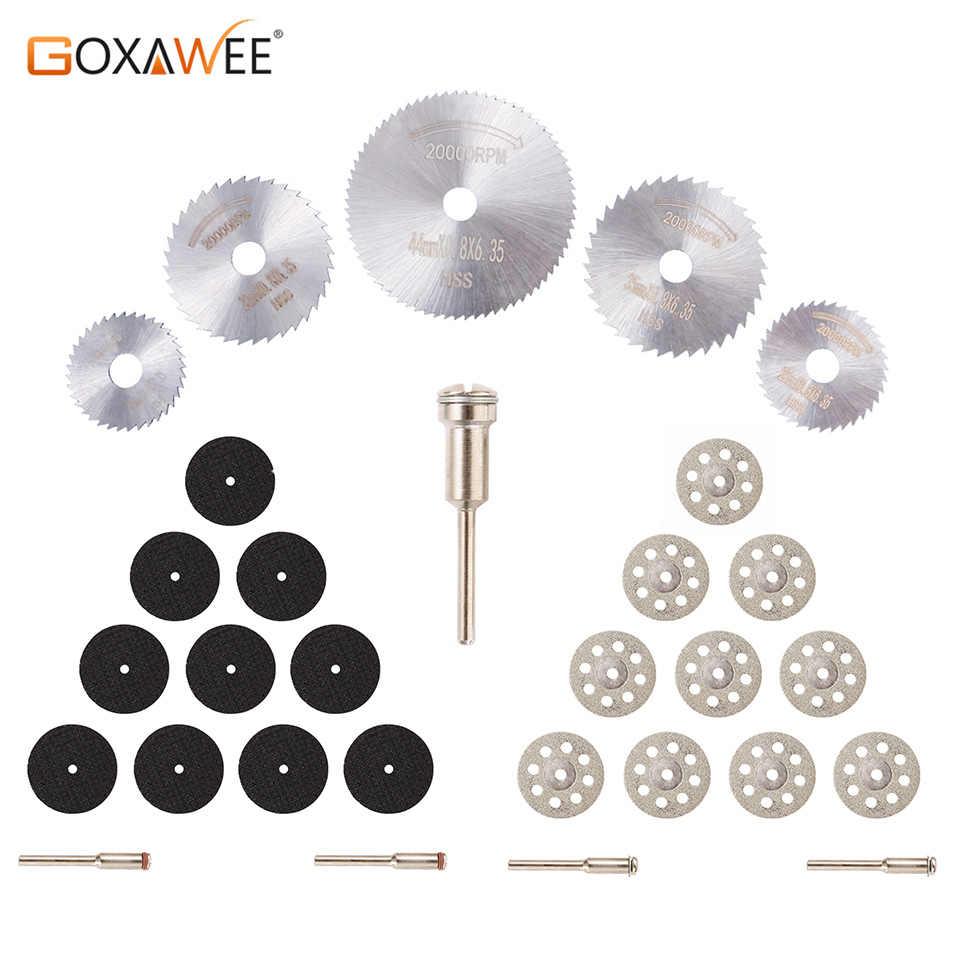 30Pcs HSS Circular Saw Blade Set For Drill Dremel Rotary Tool Cutting Wheel Disc