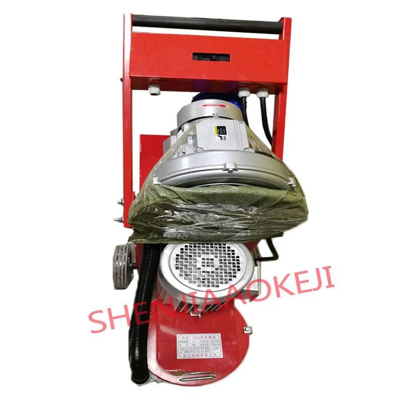 Small floor grinding machine concrete floor grinder polisher vacuuming grinding machine adjustable grinding depth 380V 1pc