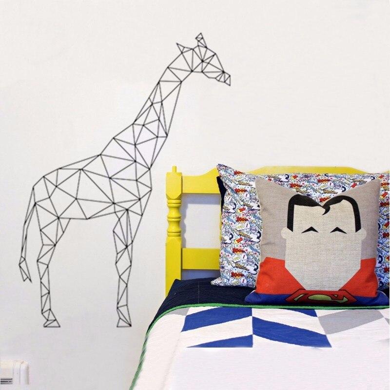 online shop geometric giraffe wall decal vinyl sticker geometry