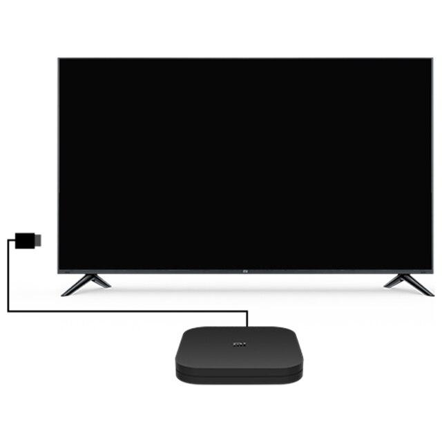 Original Global Xiaomi Mi TV Box S 4K HDR Android TV 8.1 Ultra HD 2G 8G WIFI Google Cast Netflix IPTV Set top Box 4 Media Player 2