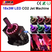 China Dj DMX 512 Electric Control Spray 8 10Meters Height Co2 For Gun Cannon Stage Effect CO2 Jet Smoke Machine