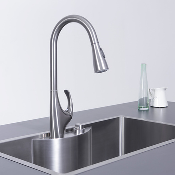JOMOO High Pressure Sprayer Pull out Kitchen Tap 360 Rotation Sink Faucets Brass Single Handle Water Mixer Tap Kitchen Faucets gappo kitchen faucets pull out kitchen single handle rotatable sink faucets water mixer water sink mixer tap robinet cuisine