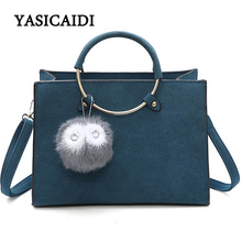 Bags Handbags Women Famous Brands Luxury Bag Sequined Handle Pu Leather Fur Shoulder Bags Women Fashion Tassel Flap Tote Bag
