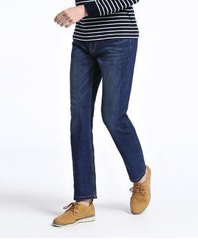 2019 Spring Jeans men straight slim Casual Trousers Denim 28-40 Full length Cat whisker Cotton pants Pencil