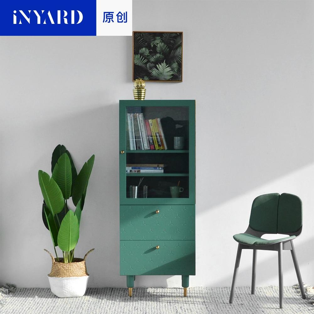 [InYard оригинал] живой уголок высокого шкафа / ТВ тумба, стеклянная хранения, буфет, гостиная, скандинавских, простой, современный