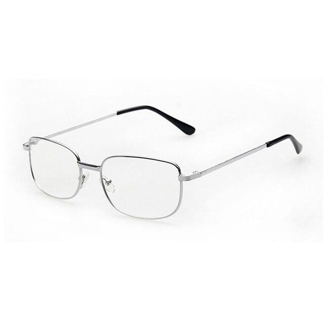 Anti-fatigue Reading Glasses +1.0 1.5 2.0 2.5 3.0 3.5 4.0 Diopter Full Metal Frame Comfy Light Glass Men Women Reading Glasses