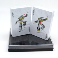 Double Box Set Plastic PVC Matte Waterproof Poker Playing Cards Novelty High Quality Collection Board Game