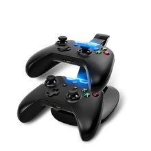 USB LED Charger Stand for  Xbox One Gamepad Game Controller  PC