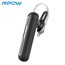 Mpow Business Wireless Headset Bluetooth Earphones With Dual Mic Handsfree with 15 Hrs Playtime for Cell Phone EM10