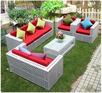 2016 высокое quanlity новый дизайн ротанга мебель садовая мебель патио мебель гостиной ротанг PE диван чайный столик плетеный мягкая
