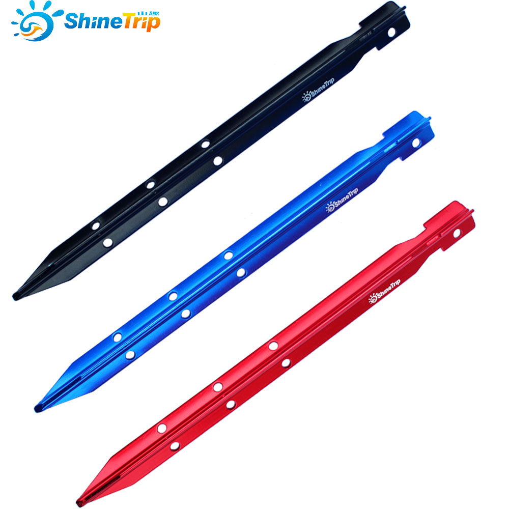 4pcs C&ing Tent Pegs 25cm Aluminum Triangle Tent Stake with Holes Outdoor Sand Beach Tent Nail Peg Tent Accessories Equipment-in Tent Accessories from ...  sc 1 st  AliExpress.com & 4pcs Camping Tent Pegs 25cm Aluminum Triangle Tent Stake with ...