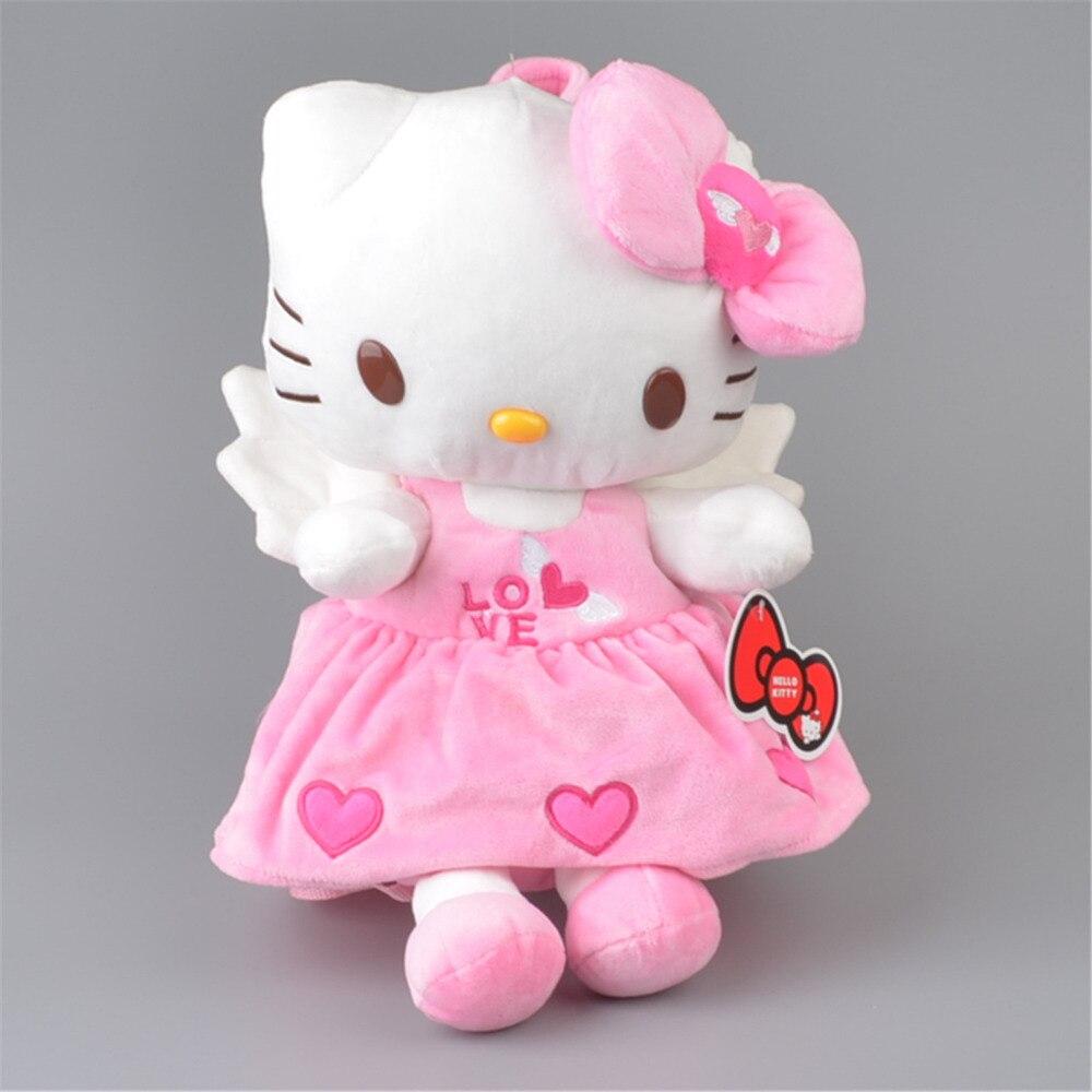 5f73b705e27 Angel Hello Kitty Plush Backpack, Children Kids Satchel Gift Free Shipping
