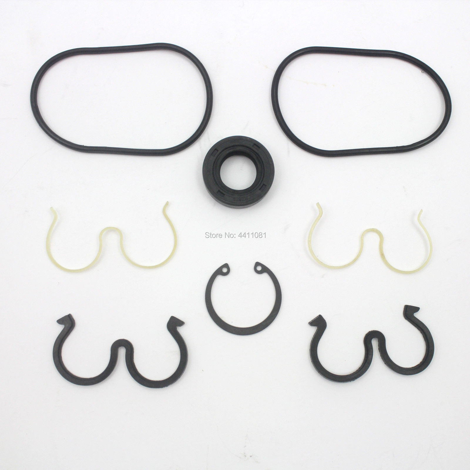 For Hitachi EX60-5 Gear Pump Seal Repair Service Kit Excavator Oil Seals, 3 month warranty