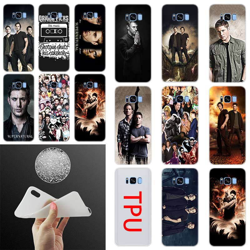 fashion TV Show Supernatural Case Silicone Cover Phone S10 E S9 S8 S7 S6 For Samsung S10 S8 S9 Plus S7 S6Edge S5 Note 8 9 Case image