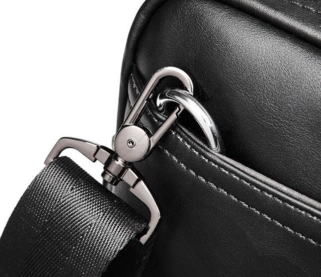 2018 new business bag leather fashion section youth shoulder Messenger bag  Korean version of the men s briefcase-in Briefcases from Luggage   Bags on  ... 9297c8cdbefee