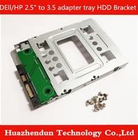 5pcs HDD Bracket for HP ProLiant Server MicroServer G7 G8 2.5 SSD to 3.5 SATA Adapter Tray Converter SAS HDD Bracket