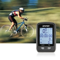 iGPSPORT iGS20E Rechargeable Bicycle GPS Computer Wireless Stopwatch with Dot metric Screen SPD/AVS/DST/ALT IPX6 Waterproof