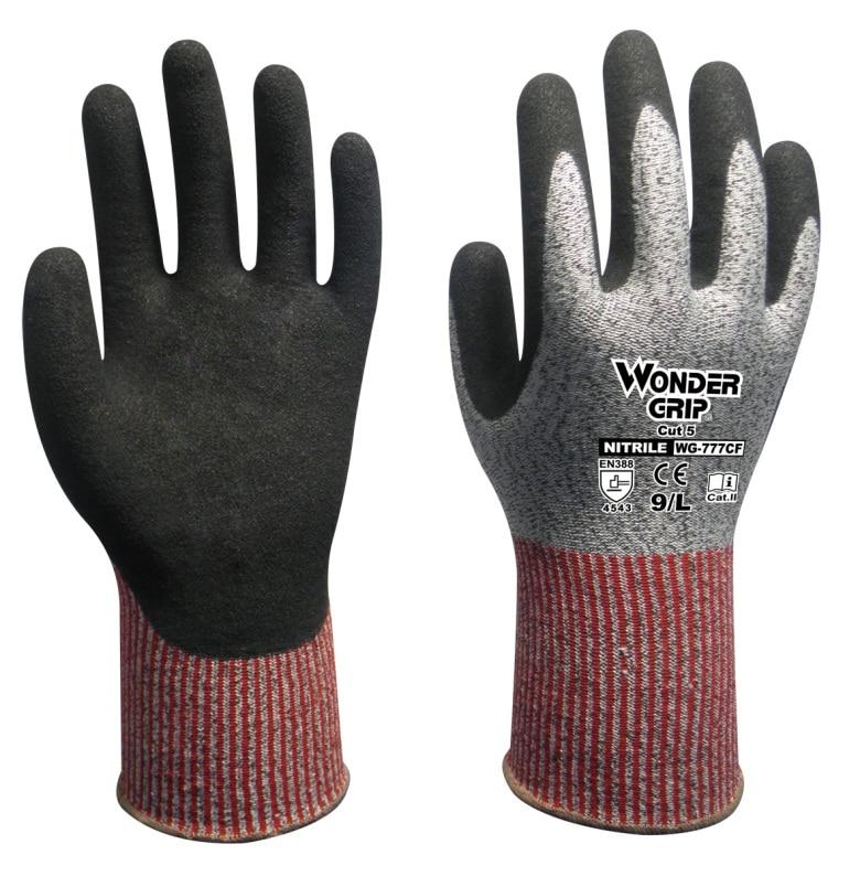 Work Gloves Anti Cut HPPE Resistance