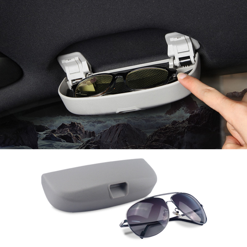 Car sun glasses holder accessories for mercedes benz w212 for Mercedes benz c300 accessories