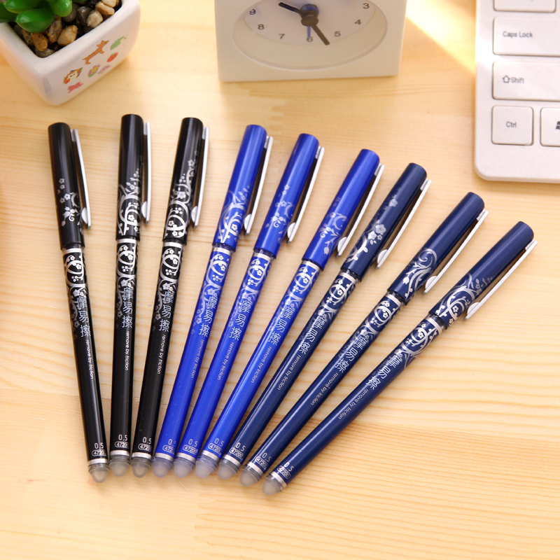 цены на 3 Psc Office Stationery 47200 Unisex Pen Erasable Pen Unisex 0.5 Gel Pen 4 Color Choose Learning Essential в интернет-магазинах