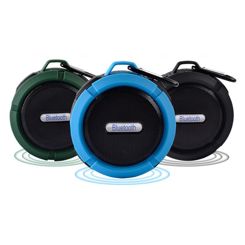 FUU C6 Altavoz Bluetooth impermeable Altavoz inalámbrico Altavoz - Audio y video portátil - foto 6