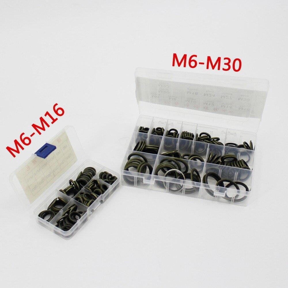 High Pressure Gasket Washer O Rings Seal Kit  M6 M8 M10 M12 M14 M16 M18 M20 M22 M24 M27 M30 Air Sealing Gauge O-Ring Socket