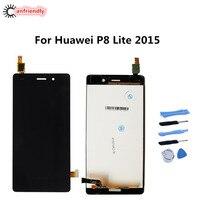 화웨이 P8 라이트 2015 LCD 디스플레이 + 터치 스크린 디지