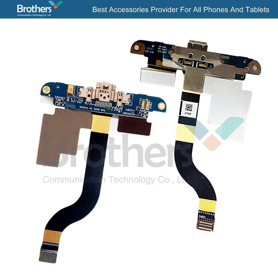 3 PCS/lot D'origine 100% test chargeur flex Pour ASUS PadFone 2 A68 de charge port connecteur USB dock flex câble livraison gratuite