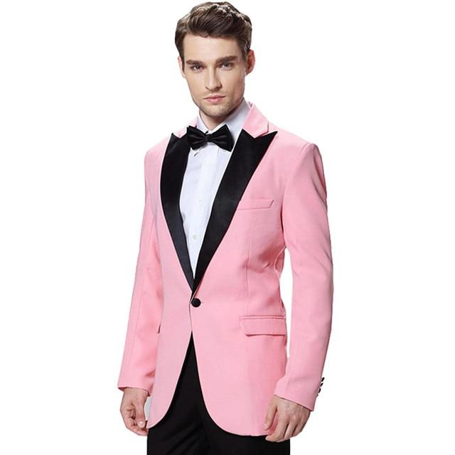 Para hombre de Color Rosa Vestido Formal Trajes Casual Trajes de ...