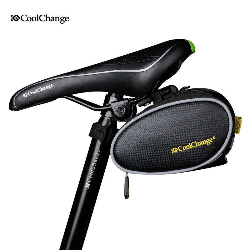 CoolChange font b Bicycle b font font b Saddle b font font b Bag b font