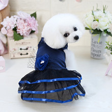 New Listing Colorful for Princess Dress Dog Pet Washable Summer/Spring Vest Skirt Dresses Puppy Vintage Clothes 5 Sizes 2019