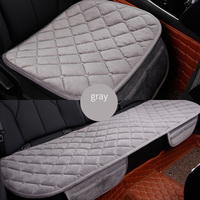 Front+Rear 5 Seats Plush car seat covers For Hyundai solaris ix35 i30 ix25 Elantra accent tucson Sonata auto accessories styling