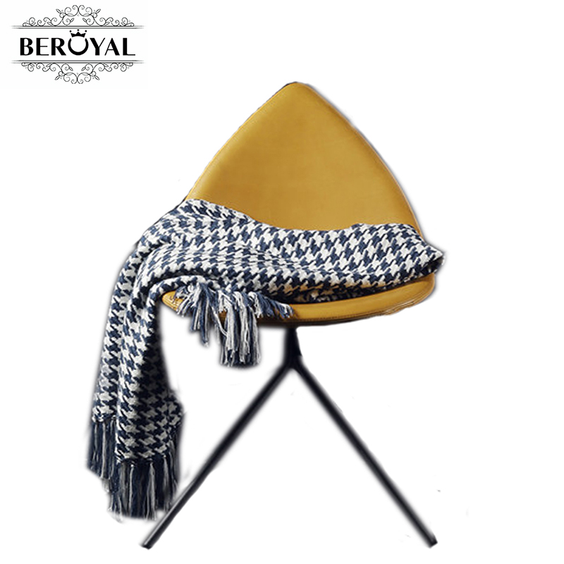 ФОТО New 2017 100% Cotton Plaid Scarf Blankets Knitted Blanket Tassels Condition Blanket  Beach Towel Large Size Beroyal Brand