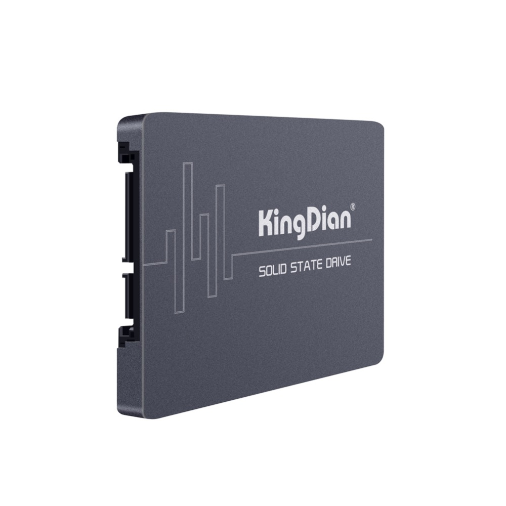 KingDian 560.7/379.4 MB/S yüksek performanslı yeni TLC 2.5 SATA3 120GB SSD 128 GB-(S280-120GB)