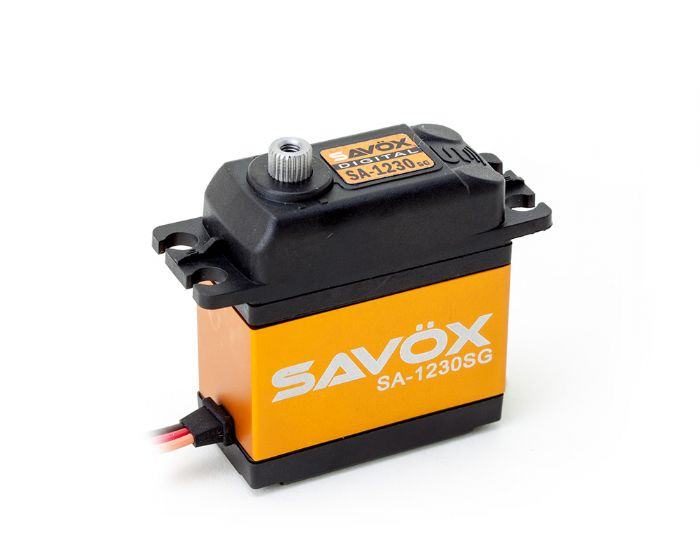 SAVOX SA-1230SG Titanium gear 36kg 0.16s servos for 1/10 1/8 baja Buggy Monster truck Crawler Scale Truggy arrivals 1 36kg
