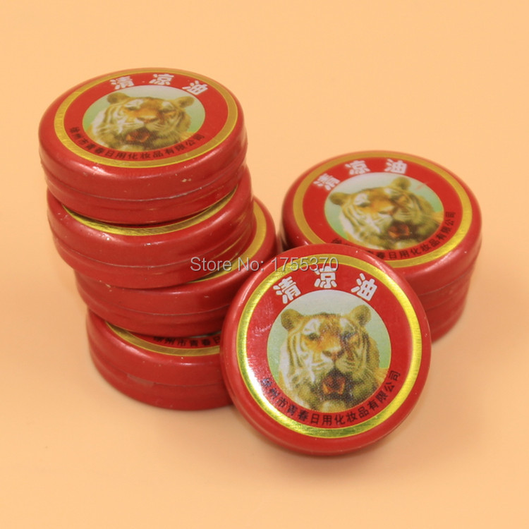 3pcs Tiger Balm Essential Oil Refresh Oneself Influenza Cold Headache Dizziness Summer Mosquito